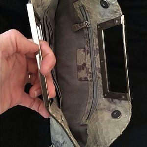 Michael Kors Bags - Michael Kors Snakeskin like Clutch/shoulder Bag